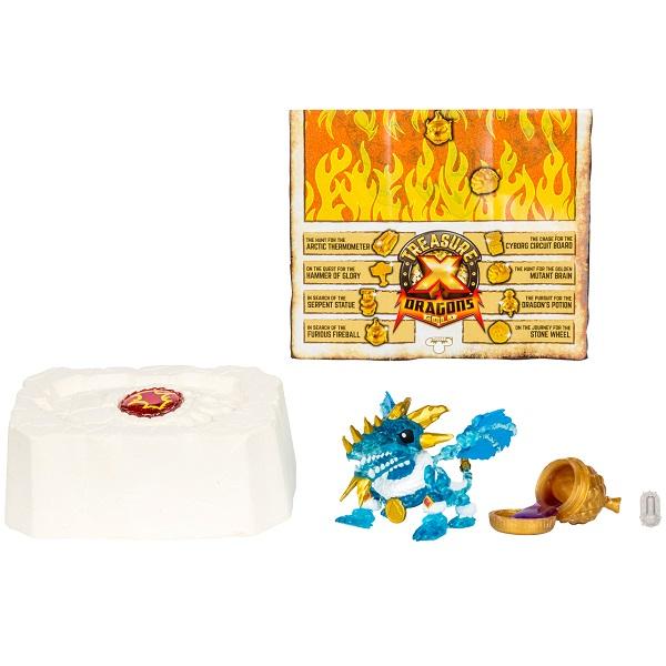 Купить Treasure X 41508T Набор Золото драконов (дракон + сокровище), Игровые наборы Treasure X