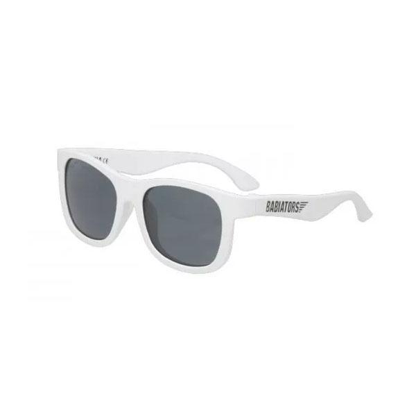Купить Babiators NAV-012 Солнцезащитные очки Original Navigator: Шаловливый белый Classic (3-5), Очки Babiators