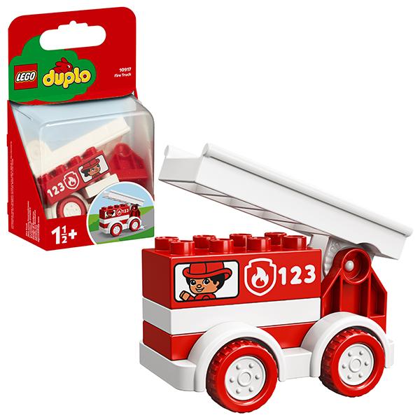 Конструкторы LEGO — LEGO DUPLO 10917 Конструктор ЛЕГО ДУПЛО Пожарная машина