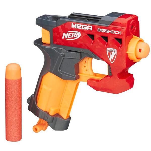 Купить Hasbro Nerf A9314 Нерф Бластер Мега Большой выстрел, Игрушечное оружие Hasbro Nerf