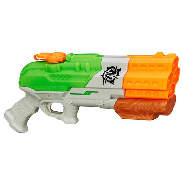Игрушечное оружие Hasbro Nerf Nerf A9463 Нерф Супер Сокер СплаттерБласт