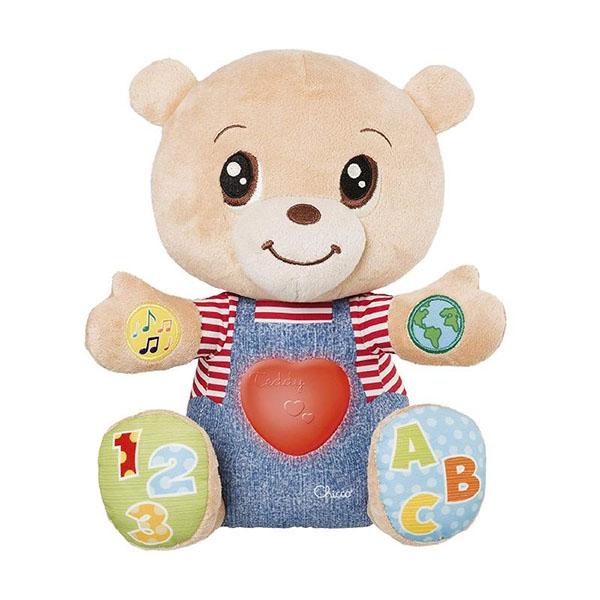 Купить CHICCO TOYS 7947AR Говорящий Мишка Teddy Emotion (русс/англ), Развивающие игрушки для малышей CHICCO TOYS