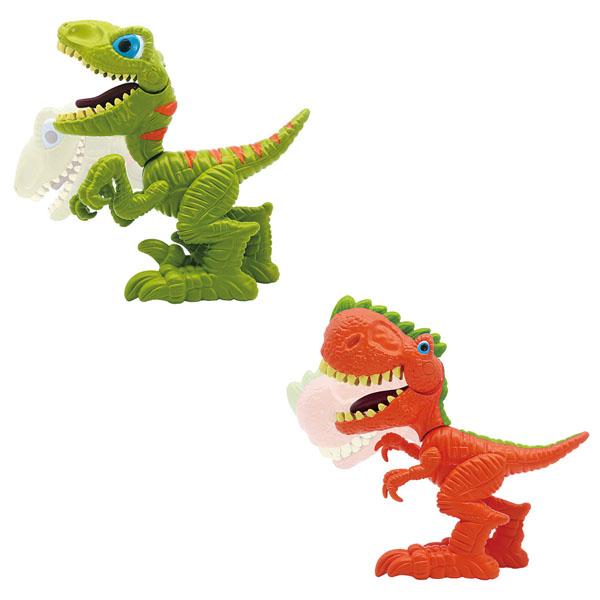 Купить Junior Megasaur 16916 Динозавр, открывает пасть (в ассортименте), Интерактивная игрушка Junior Megasaur