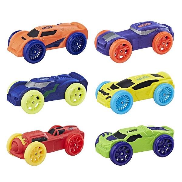 Купить Hasbro Nerf C3171 Машинки Нёрф Нитро 6 штук, Игровые наборы Hasbro Nerf