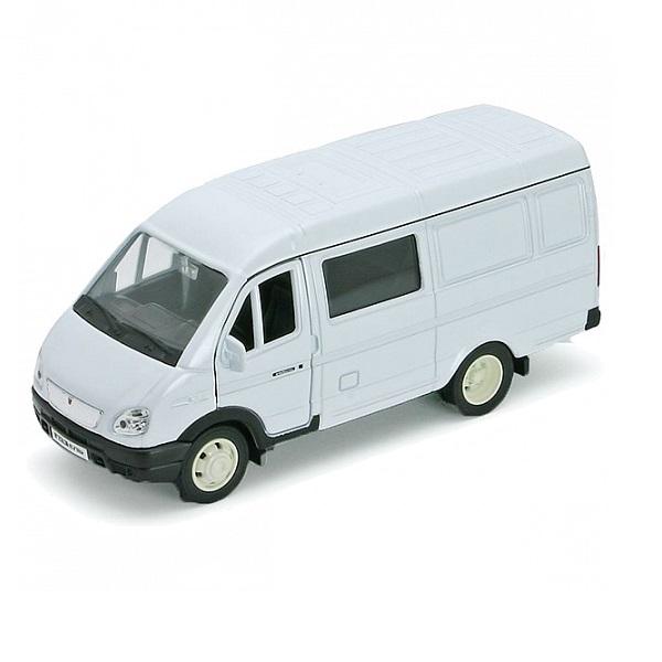 Машинка Welly 42387B Велли Модель машины 1:34-39 ГАЗель фургон с окном
