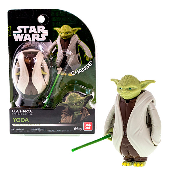 Купить Star Wars Bandai 84646 Звездные Войны Яйцо-Трансформер Йода, Фигурка трансформер Star Wars Bandai
