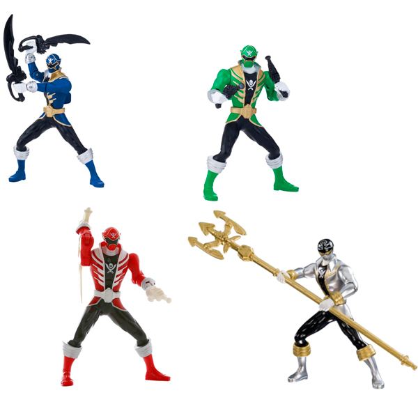 Power Rangers Samurai 38140 Пауэр Рейнджерс Рейнджер на джойстике Двойной удар (в ассортименте)