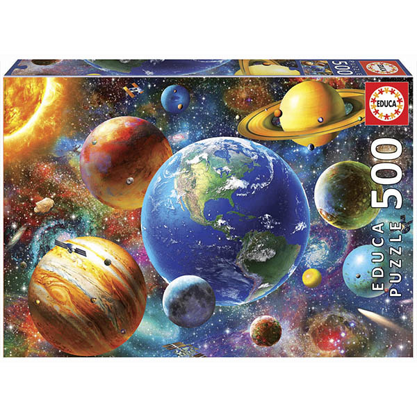 Купить EDUCA 18449 Пазл 500 деталей Солнечная система