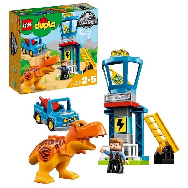 Купить Lego Duplo 10880 Конструктор Лего Дупло Jurassic World Башня Ти-Рекса, Конструкторы LEGO