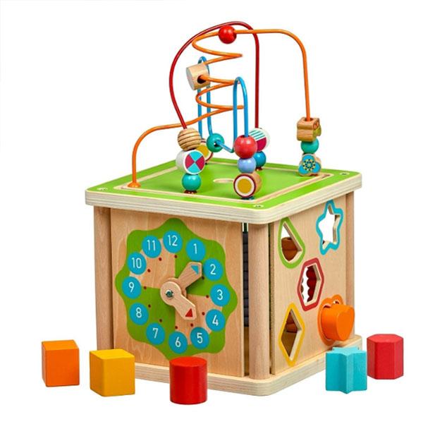 Купить Lucy&Leo LL248 Занимательный куб - большой Умный куб, Развивающие игрушки для малышей Lucy&Leo
