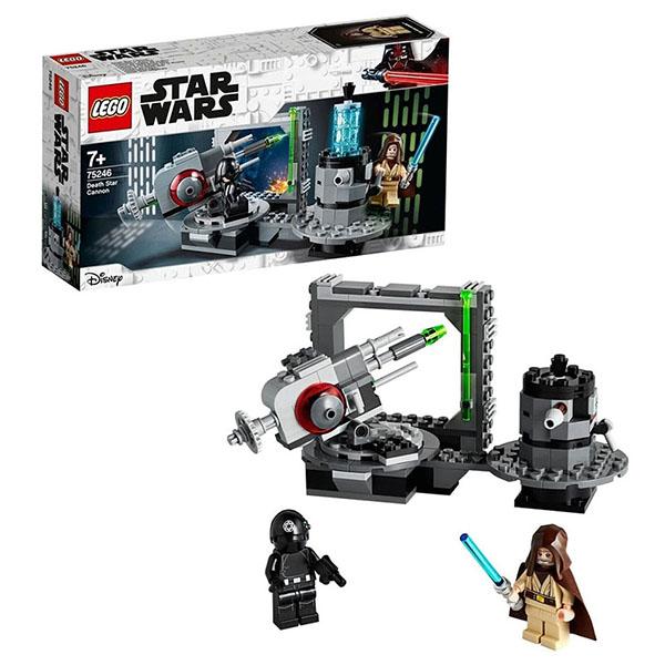 Купить LEGO Star Wars 75246 Конструктор ЛЕГО Звездные войны Пушка Звезды смерти, Конструкторы LEGO