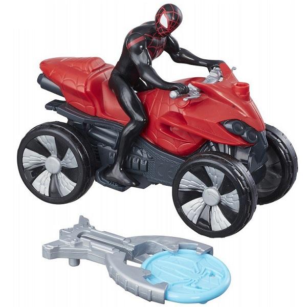 Hasbro Spider-Man B9705/B9995 Кид Арахнид на квадроцикле, арт:155202 - Супергерои, Игровые наборы