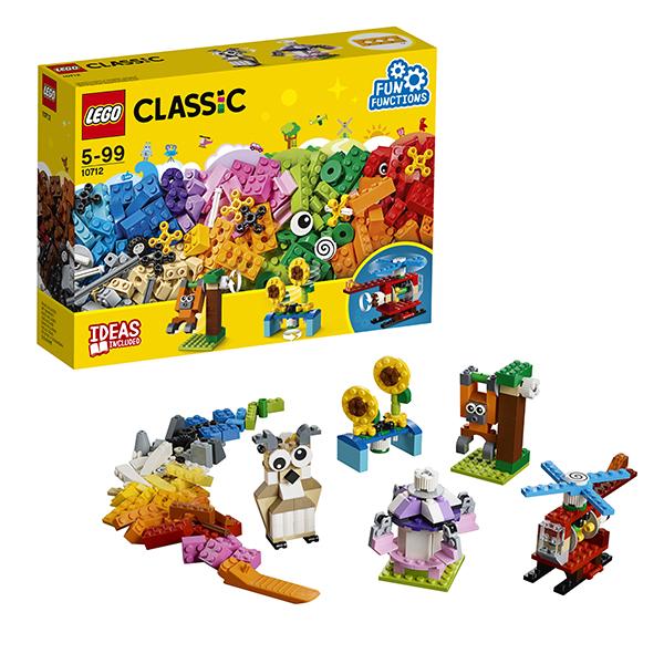LEGO Classic 10712 Конструктор ЛЕГО Классик Кубики и механизмы, Конструкторы LEGO  - купить со скидкой