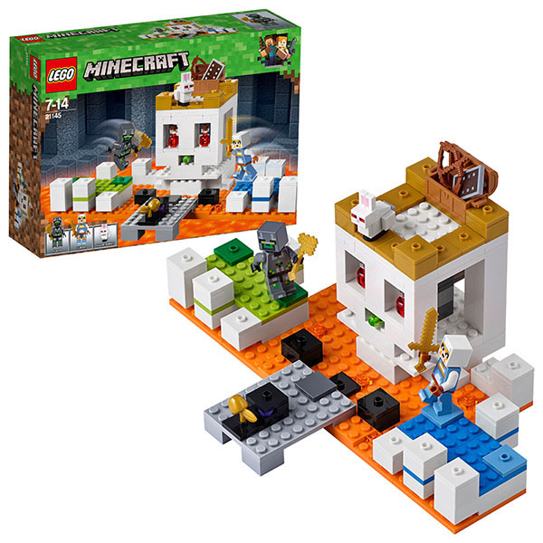 Купить LEGO Minecraft 21145 Конструктор ЛЕГО Майнкрафт Арена-Череп, Конструктор LEGO