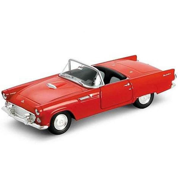 Купить Welly 42366 Велли Модель винтажной машины 1:34-39 Ford Thunderbird 1955, Машинка инерционная Welly
