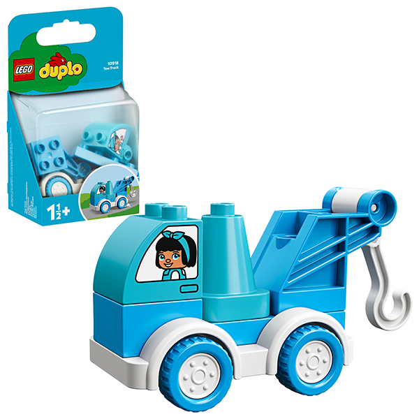Купить LEGO DUPLO 10918 Конструктор ЛЕГО ДУПЛО Буксировщик, Конструкторы LEGO
