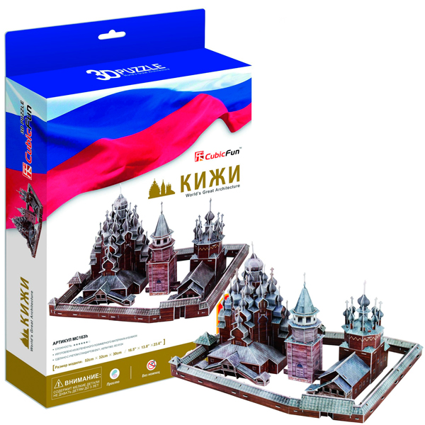 3D пазлы Cubic Fun - 3D пазлы, артикул:40311