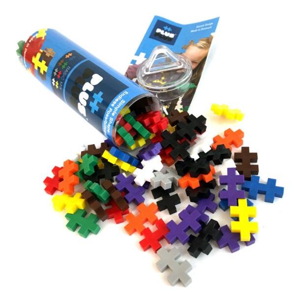 Plus Plus 4023 Разноцветный конструктор для создания 3D моделей (базовый набор) - Конструкторы для мальчиков и девочек