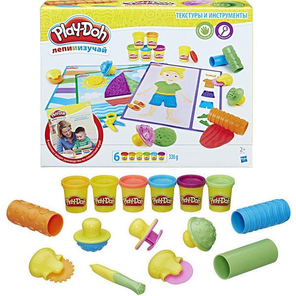 Купить Hasbro Play-Doh B3408 Игровой набор Текстуры и инструменты , Пластилин Hasbro Play-Doh