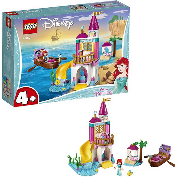 Купить LEGO Disney Princess 41160 Конструктор ЛЕГО Принцессы Дисней Морской замок Ариэль, Конструктор LEGO