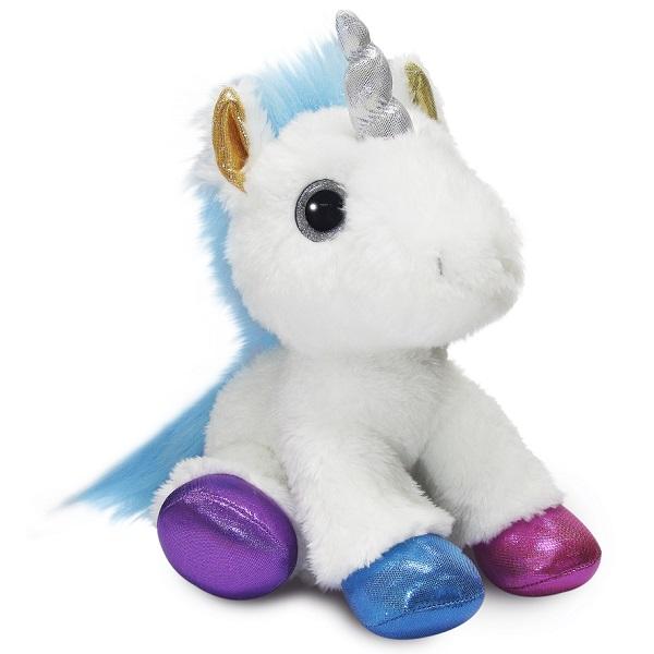 Мягкие игрушки Aurora 180170A Аврора Единорог разноцветный 30 см фото