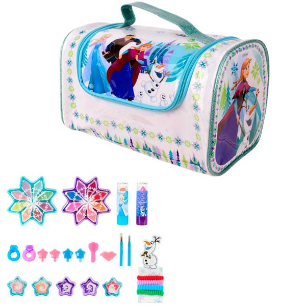Купить Markwins 9702051 Frozen Игровой набор детской декоративной косметики в сумке, Косметика для девочек Markwins