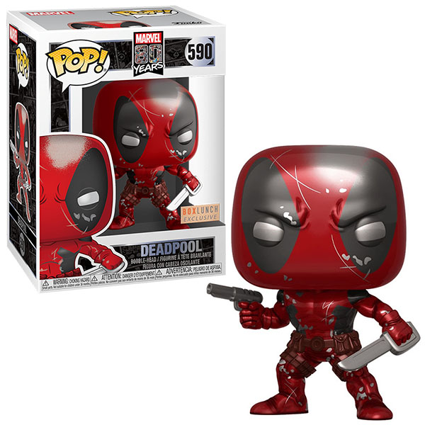 Купить Funko 45347F Фигурка Funko POP! Bobble: Marvel: 80th: First Appearance Deadpool (MT) (Exc), Игровые наборы и фигурки для детей Funko