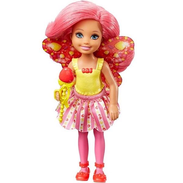 Mattel Barbie DVM90 Барби Маленькая фея Челси Леденец