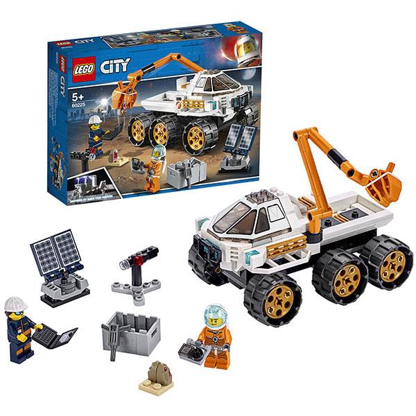 Купить LEGO City 60225 Конструктор Лего Город Тест-драйв вездехода, Конструктор LEGO