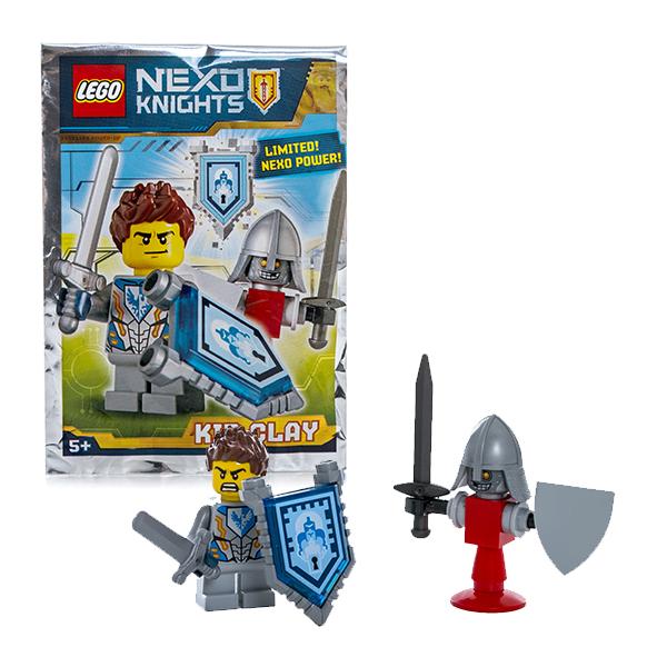 Lego Nexo Knights 271608 Конструктор Лего Нексо Клэй, арт:146471 - LEGO, Конструкторы для мальчиков и девочек