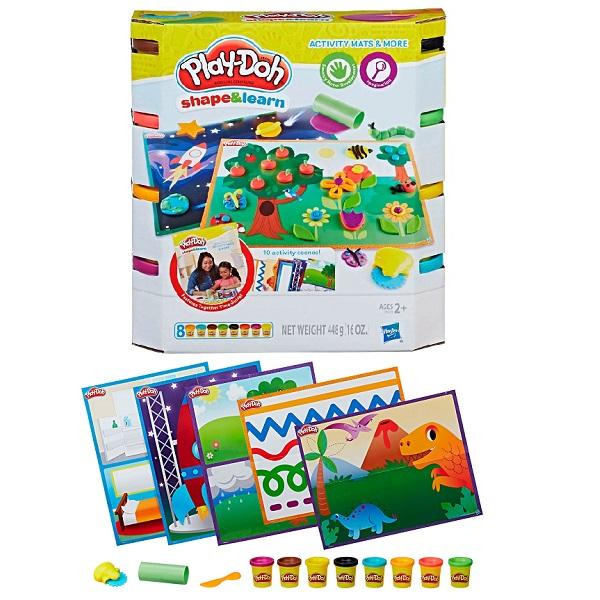 Купить Hasbro Play-Doh E0041 Плей До Познаем Мир , Пластилин и масса для лепки Hasbro Play-Doh