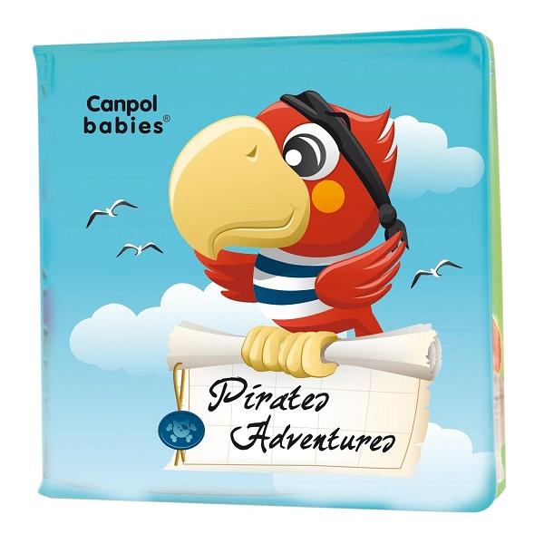 Купить Canpol babies 250989068 Книжка мягкая с пищалкой, пираты, 6м+, Детские игрушки для ванной Canpol babies