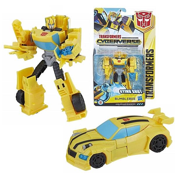 Купить Hasbro Transformers E1884/E1900 Трансформер КИБЕРВСЕЛЕННАЯ 14 см Бамблби, Игровые наборы и фигурки для детей Hasbro Transformers