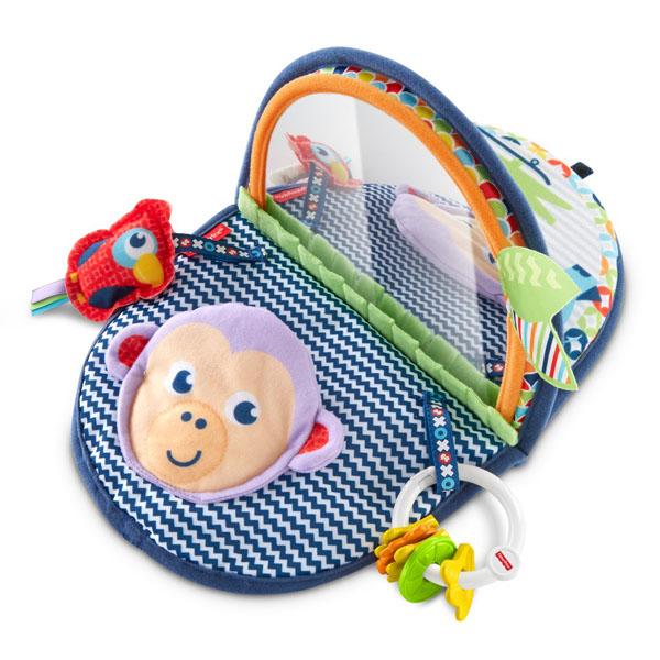 Купить Mattel Fisher-Price DYC85 Фишер Прайс Мягкое зеркальце Обезьянка , Развивающие игрушки для малышей Mattel Fisher-Price