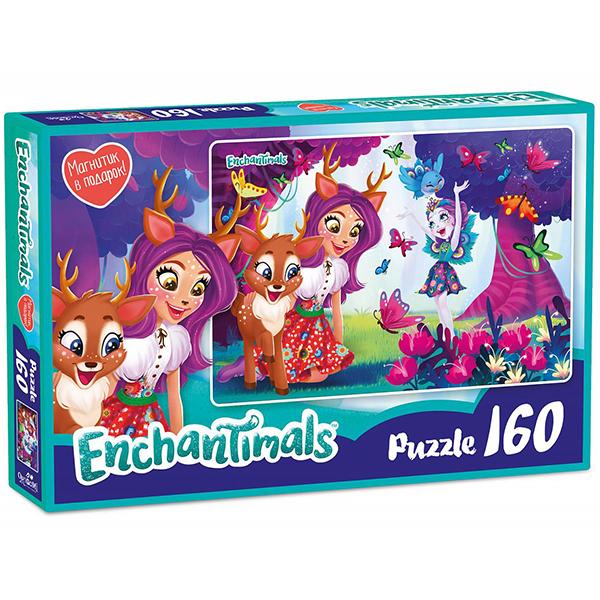 Enchantimals AST188874 Пазл Даниэсса и Пэттер 160 элементов - Настольные игры