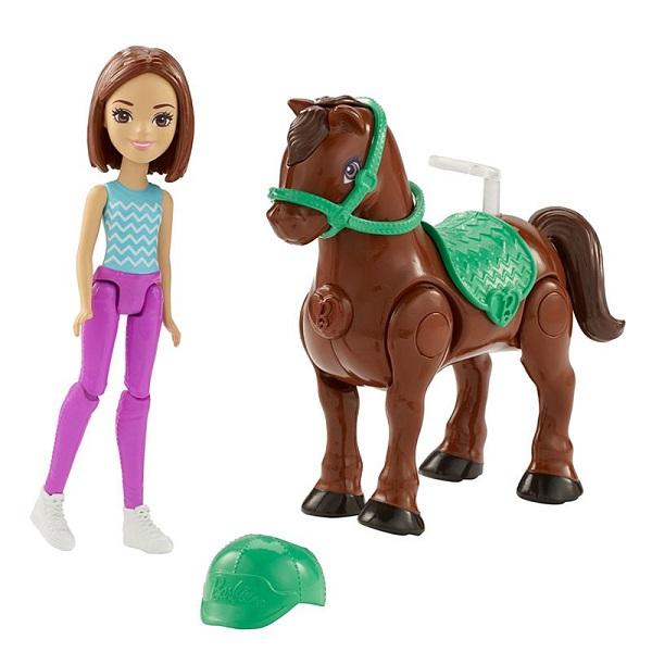 Купить Mattel Barbie FHV62 Барби В движении Пони и кукла, Куклы и пупсы Mattel Barbie