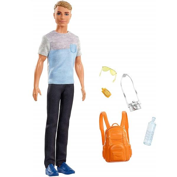 Mattel Barbie FWV15 Барби Кен из серии Путешествия - Куклы и аксессуары
