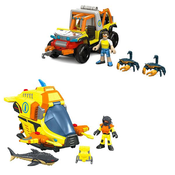 Игрушка для малышей Mattel Imaginext - Мини наборы, артикул:149234
