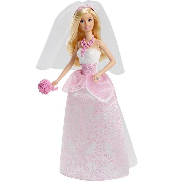 Купить Mattel Barbie CFF37 Барби Кукла-невеста, Куклы и пупсы Mattel Barbie