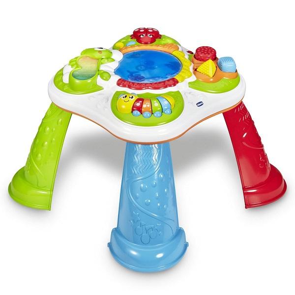 Купить CHICCO TOYS 10154AR Игрушка - развивающий центр Столик открытий