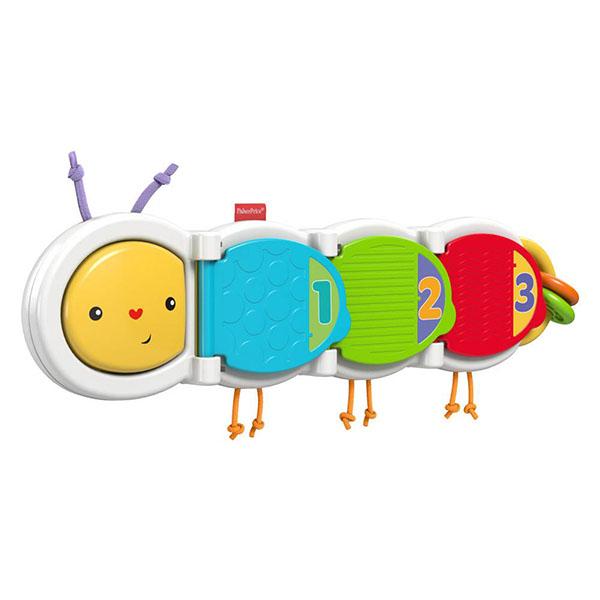 Купить Mattel Fisher-Price DHW14 Фишер Прайс Гусеница с сюрпризом, Развивающие игрушки для малышей Mattel Fisher-Price