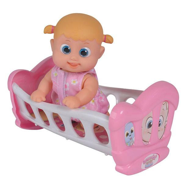 Bouncin' Babies 803002 Кукла Бони с кроваткой, 16 см - Куклы и аксессуары