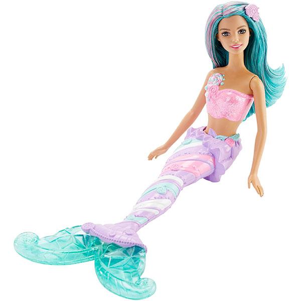 Купить Mattel Barbie DHM46 Барби Радужные русалочки, Куклы и пупсы Mattel Barbie, Mattel Barbie