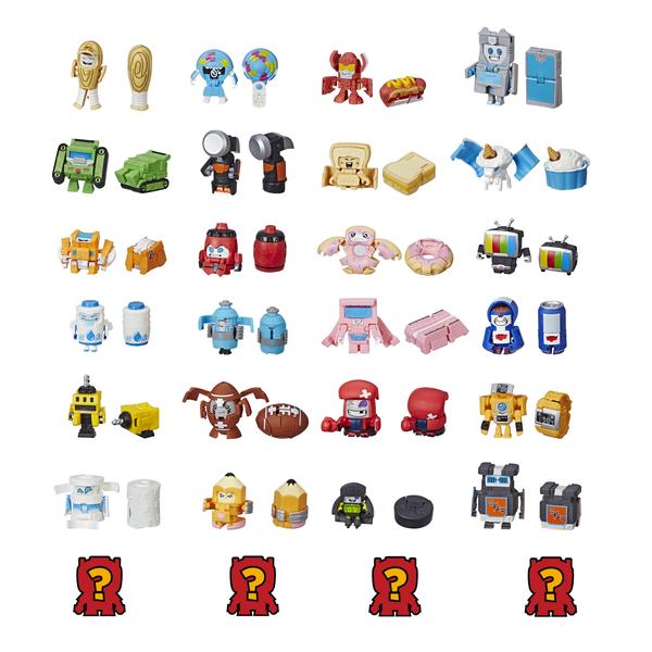 Купить Hasbro Transformers E3494 Игровой набор 8 трансформеров Ботботс, Игрушечные роботы и трансформеры Hasbro Transformers
