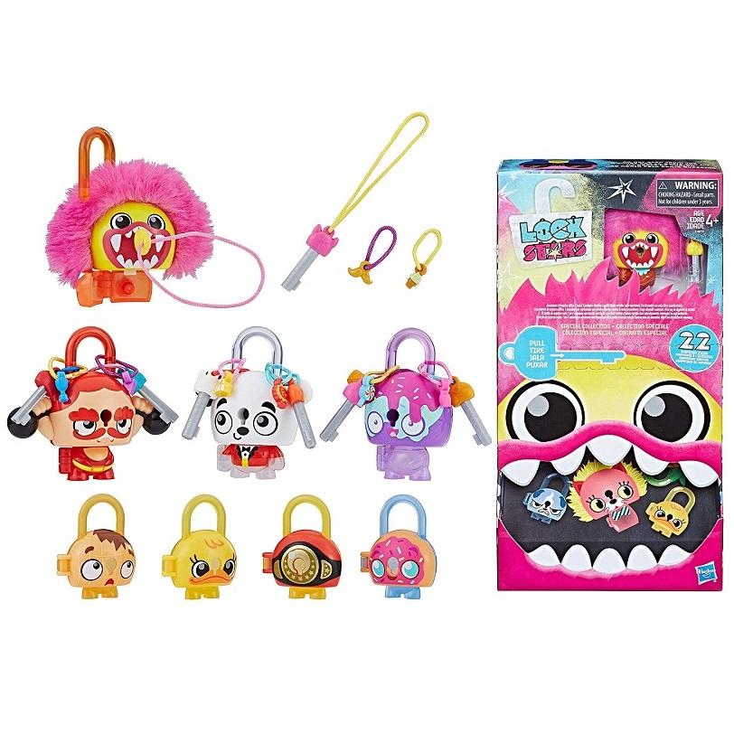 Купить Hasbro Lockstar E4819 Набор Hasbro Lockstar 4 замочка с секретом , Игровые наборы и фигурки для детей Hasbro Lockstar
