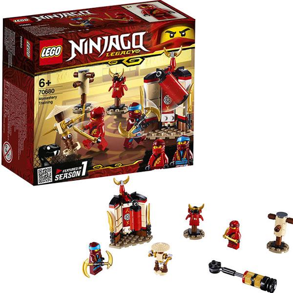 Купить Lego Ninjago 70680 Конструктор Лего Ниндзяго Обучение в монастыре, Конструкторы LEGO