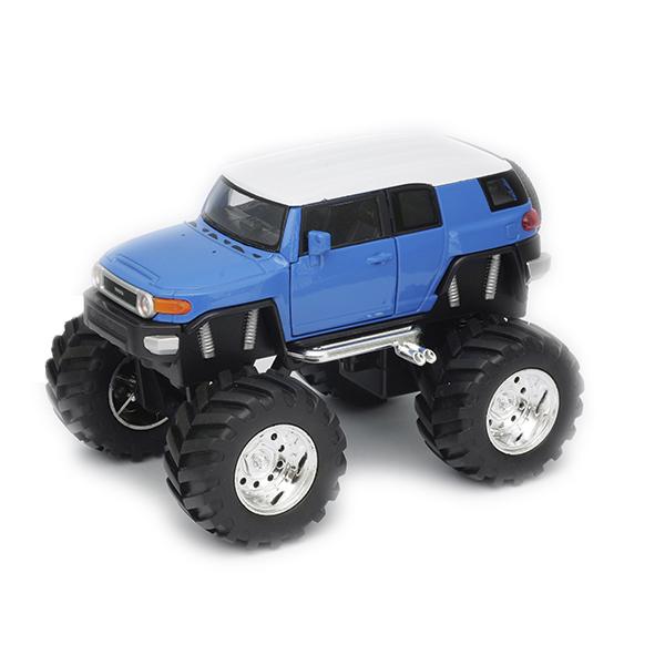 Купить Welly 47003 Велли Модель машины 1:34-39 Toyota FJ Cruiser Big Wheel, Машинка Welly