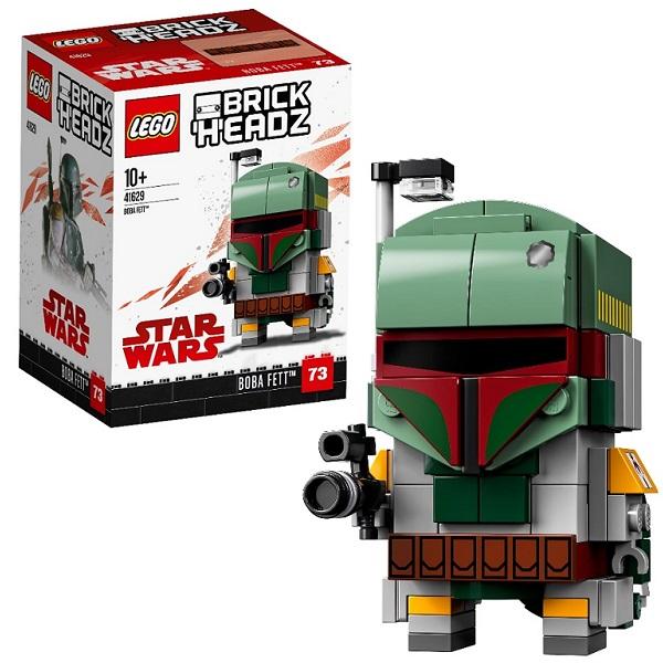 Lego BrickHeadz 41629 Конструктор Лего БрикХедз Боба Фетт, арт:156502 - BrickHeadz, Конструкторы LEGO
