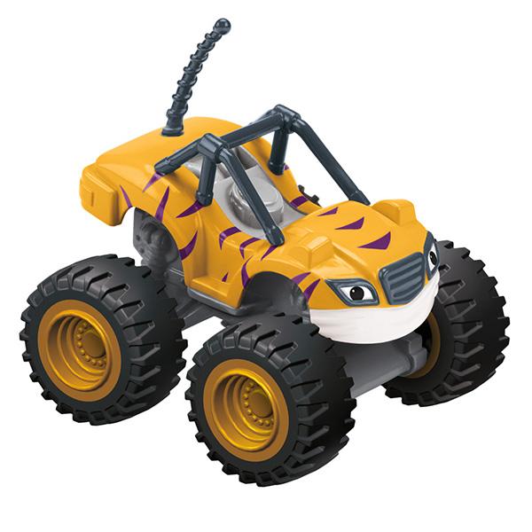 Mattel Blaze CGH56 Вспыш и его друзья, Рык, арт:144359 - Машинки из мультфильмов, Транспорт