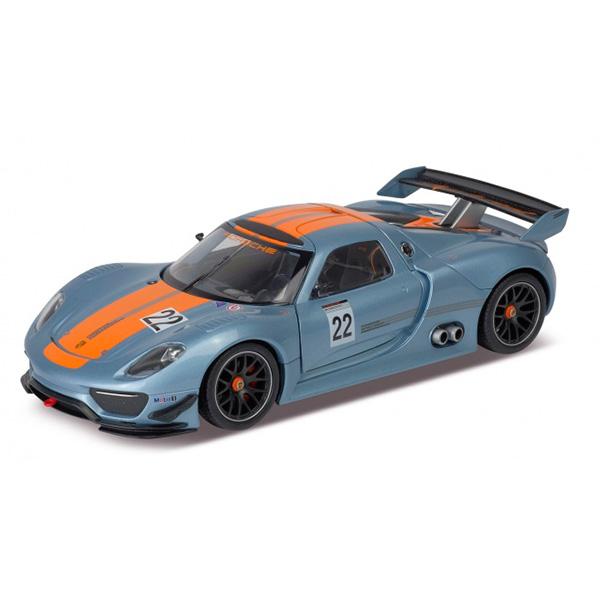 Купить Welly 24044 Велли Модель машины 1:24 Porsche 918 RSR, Машинка инерционная Welly